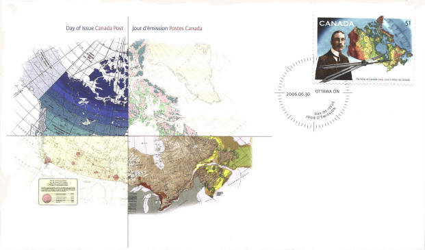 SCN Atlas of Canada - First Day Cover