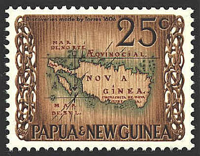 World Stamp Pictures - Papua New Guinea Stamp 1